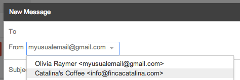 Pick Which Email Account in Gmail