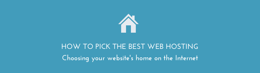 Picking the best web hosting