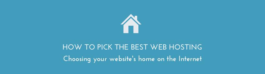 Picking the best web hosting