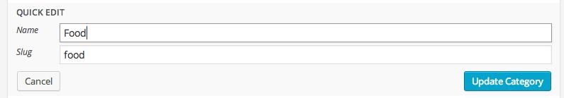 Uncategorized is not a helpful category
