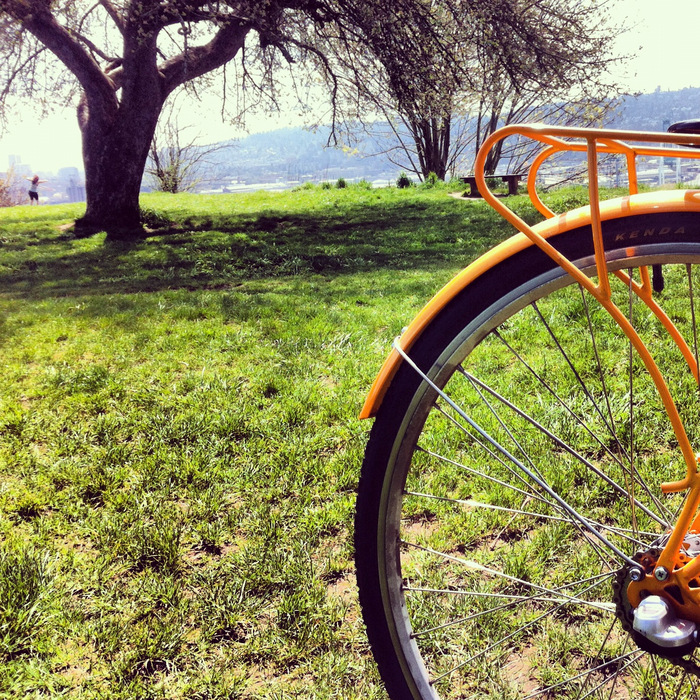 Orange Bike - I got it!