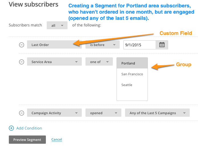 Mailchimp Groups Vs Segments Lists Custom Fields
