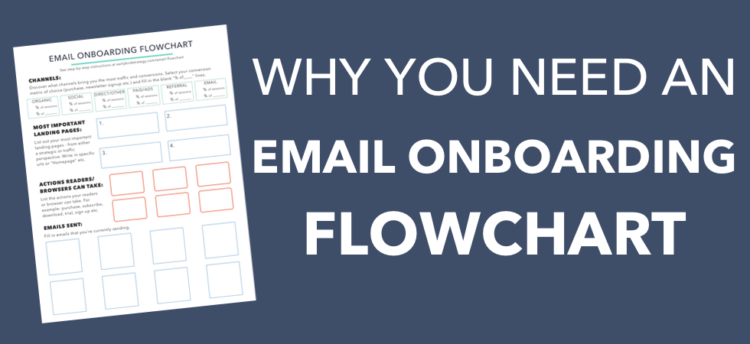 Why you need an email onboarding flowchart